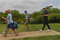 Seamus Power (IRL) makes his way down 2 during day 2 of the Valero Texas Open, at the TPC San Antonio Oaks Course, San Antonio, Texas, USA. 4/5/2019.<br /> Picture: Golffile | Ken Murray<br /> <br /> <br /> All photo usage must carry mandatory copyright credit (© Golffile | Ken Murray)
