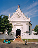 SRI LANKA, Asia, Galle, entrance to Dutch Reform church