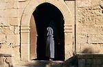 Nun, Nonne, Detail, Kloster, Monastery of Aya Napa, Agia Napa, Cyprus, Zypern