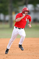 February 22, 2009:  Outfielder Scott Ferrara (15) of St. John's University during the Big East-Big Ten Challenge at Naimoli Complex in St. Petersburg, FL.  Photo by:  Mike Janes/Four Seam Images
