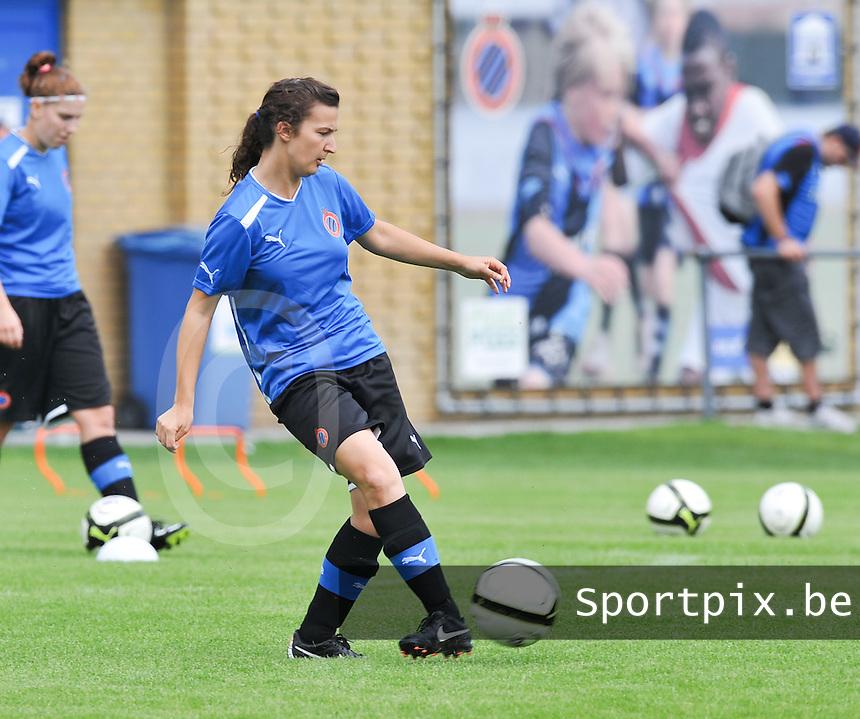 eerste training Club Brugge Dames : Evy De Smedt.foto DAVID CATRY / Vrouwenteam.be