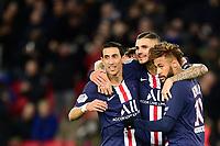 joie des joueurs du PSG apres le but de Mauro Icardi (PSG)<br /> DI MARIA Angel (PSG) / NEYMAR JR (PSG)<br /> 22/11/2019<br /> Paris Saint Germain PSG - Lille<br /> Calcio Ligue 1 2019/202 <br /> Foto JB Autissier Panoramic/insidefoto <br /> ITALY ONLY