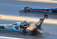 Jul 28, 2019; Sonoma, CA, USA; NHRA top fuel driver Antron Brown during the Sonoma Nationals at Sonoma Raceway. Mandatory Credit: Mark J. Rebilas-USA TODAY Sports