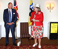 HM Lord-Lieutenant of Bedfordshire's Recognition of Bedfordshire's 2019 Queen's Birthday Honours Recipients at the Woburn Hotel, Woburn, Beds on September 9th 2019<br /> <br /> Photo by Keith Mayhew