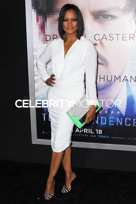 "WESTWOOD, LOS ANGELES, CA, USA - APRIL 10: Garcelle Beauvais at the Los Angeles Premiere Of Warner Bros. Pictures And Alcon Entertainment's ""Transcendence"" held at Regency Village Theatre on April 10, 2014 in Westwood, Los Angeles, California, United States. (Photo by Xavier Collin/Celebrity Monitor)"