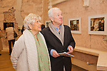 "L- R Susan Woods and  Antony Farrell at the launch of New York Photographer Susan Wood Exhibition ""Close up"" , Movie Stills from the 1960's at The City Assembly Hall in association with the Irish Georgian Society and The Jameson Film Festival in Dublin on Thursday 6th Feb.  Pic Angela Halpin     ****No Repro Fee*****"