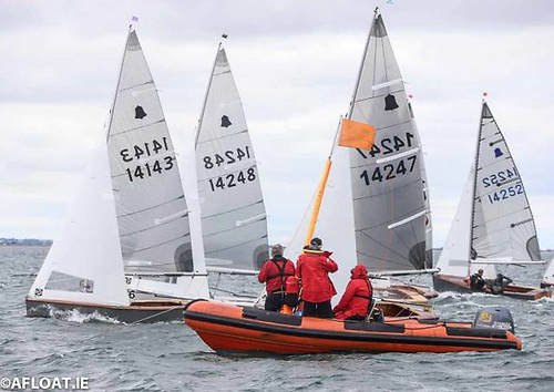 The GP14 Leinster Championships were staged as part of Volvo Dun Laoghaire Regatta in 2019 Photo: Afloat