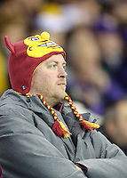 NOVEMBER 19:  ASU's fans during the game against Washington .  Washington defeated ASU 44-18 at the University of Washington in Seattle, WA