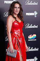Malu attends 40 Principales awards photocall  2012 at Palacio de los Deportes in Madrid, Spain. January 24, 2013. (ALTERPHOTOS/Caro Marin) /NortePhoto