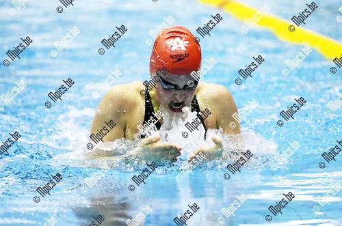 2010-01-16 / Zwemmen / Flanders Swimming Cup / Elise Matthysen..Foto: mpics