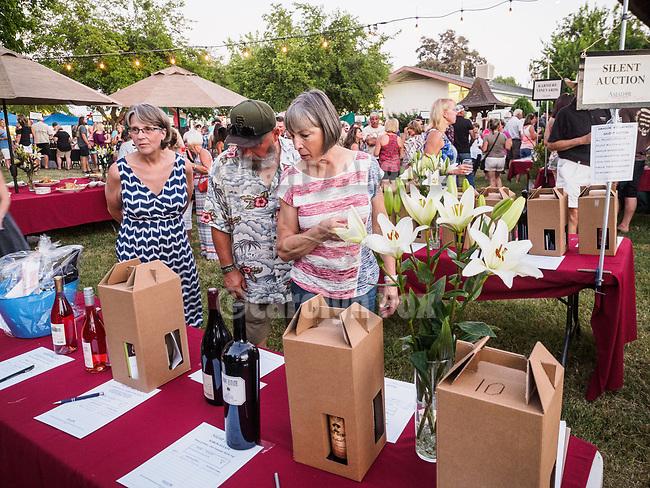 Wine tasting at the 79th Amador County Fair, Plymouth, Calif.<br /> <br /> <br /> #AmadorCountyFair, #PlymouthCalifornia,<br /> #TourAmador, #VisitAmador, #AmadorWineGrapeGrowers, #AmadorWines