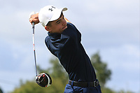 Liam Abom (Edmonstown) on the 14th tee during the Final round in the Connacht U16 Boys Open 2018 at the Gort Golf Club, Gort, Galway, Ireland on Wednesday 8th August 2018.<br /> Picture: Thos Caffrey / Golffile<br /> <br /> All photo usage must carry mandatory copyright credit (&copy; Golffile   Thos Caffrey)