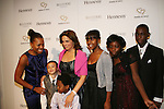 "Deborah Koenigsberger and Soledad O'Brien and kids at The Hearts of Gold 13th Annual Gala ""It's a Love Thing"" - a benefit gala for Hearts of Gold on November 12, 2009 at the Metropolitan Pavilion, NYC, NY. (Photo by Sue Coflin/Max Photos)"