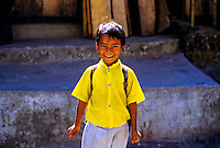 School boy, Legship, West Sikkim, India