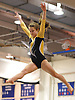 Amanda Ferraro of Bethpage peforms on the balance beam during a varsity gymnastics meet against host Long Beach High School on Monday, Jan. 4, 2016. Long Beach won the meet by a score of 151.55-147.60.