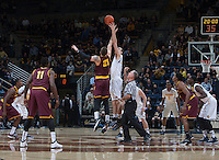 Berkeley, CA - January 22, 2015: California Golden Bears' 44-79 loss to Arizona State during NCAA Men's Basketball game at Haas Pavilion.