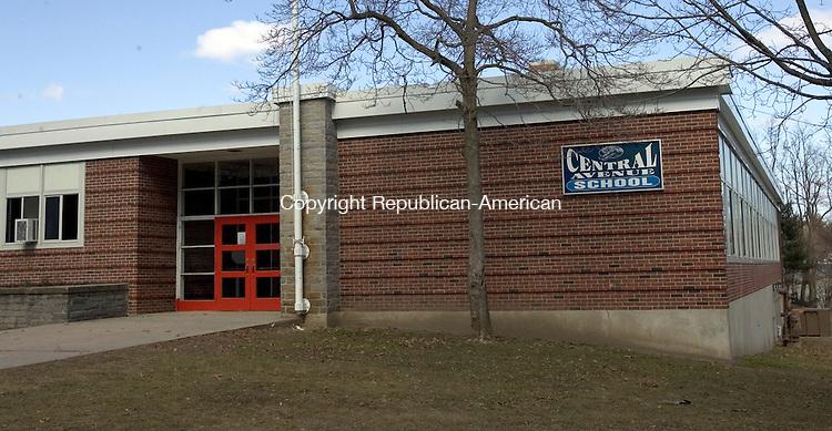 NAUGATUCK, CT. 10 March 2012-031012SV05-Central Avenue School in Naugatuck Saturday. School board members will propose closing Central Avenue School. .Steven Valenti Republican-American