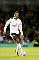 Floyd Ayité of Fulham in action during the Sky Bet Championship match between Fulham and Hull City at Craven Cottage, London, England on 13 September 2017. Photo by Carlton Myrie.