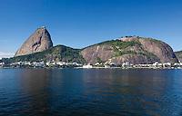 RIO DE JANEIRO, RJ, 22.04.2014 - PAO DE AÇUCAR -  Vista do Pao de Açucar no Rio de Janeiro, nesta terca-feira, 22. (Foto: Nicson Olivier / Brazil Photo Press).