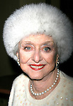 Celeste Holm.attending the closing night after party for APPLAUSE at NY City Center Encores!.New York City,.February 10, 2008.