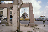 A ship carrying rice from Vietnam moored in the crumbling docks area of Havana.