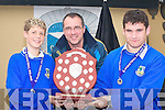 AWARDS: Eamon McLoughlin, Maurice Casey and Sean Daly from Castleisland Community College who were honoured at the South West Schools basketball awards in Ulicks bar, Farranfore on Wednesday.   Copyright Kerry's Eye 2008