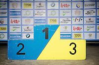 podium<br /> <br /> Druivenkoers 2014<br /> Huldenberg - Overijse (Belgium): 196km