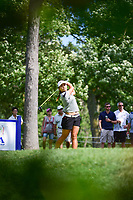 Lydia Ko (NZL) watches her tee shot on 16 during Saturday's round 3 of the 2017 KPMG Women's PGA Championship, at Olympia Fields Country Club, Olympia Fields, Illinois. 7/1/2017.<br /> Picture: Golffile | Ken Murray<br /> <br /> <br /> All photo usage must carry mandatory copyright credit (&copy; Golffile | Ken Murray)