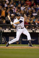 May 19, 2010: Seattle Mariners' Mike Sweeney (5) at-bat during a game against the Toronto Blue Jays at Safeco Field in Seattle, Washington.