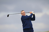 Gary Cullen (Links Portmarnock) on the 9th tee during Round 2 of The East of Ireland Amateur Open Championship in Co. Louth Golf Club, Baltray on Sunday 2nd June 2019.<br /> <br /> Picture:  Thos Caffrey / www.golffile.ie<br /> <br /> All photos usage must carry mandatory copyright credit (© Golffile | Thos Caffrey)