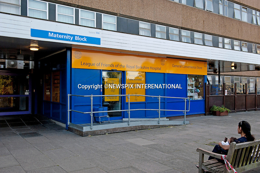 THE ROYAL BERKSHIRE HOSPITAL MATERNITY WING<br /> in Reading, Berkshire is one of the other hospitals that there is a contingency for the birth of the royal baby_20/07/2013<br /> Kate Middleton was born here.<br /> Mandatory Credit Photo: &copy;Robert Piper/NEWSPIX INTERNATIONAL<br /> <br /> **ALL FEES PAYABLE TO: &quot;NEWSPIX INTERNATIONAL&quot;**<br /> <br /> IMMEDIATE CONFIRMATION OF USAGE REQUIRED:<br /> Newspix International, 31 Chinnery Hill, Bishop's Stortford, ENGLAND CM23 3PS<br /> Tel:+441279 324672  ; Fax: +441279656877<br /> Mobile:  07775681153<br /> e-mail: info@newspixinternational.co.uk