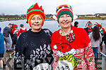 Josephine O'Shea (Ballymac) and Gemma O'Shea (Tralee) at the Fiona Moore Memorial 5k Fun Run in the Tralee Bay Wetlands on Sunday morning.