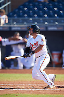 Peoria Javelinas Austin Wynns (21), of the Baltimore Orioles organization, during a game against the Mesa Solar Sox on October 19, 2016 at Peoria Stadium in Peoria, Arizona.  Peoria defeated Mesa 2-1.  (Mike Janes/Four Seam Images)