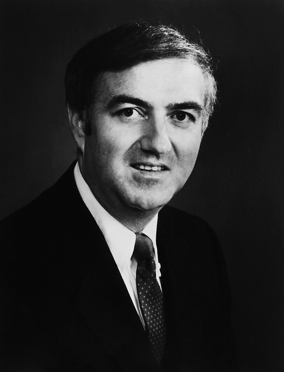 Rep. Fred J. Eckert, R-N.Y. 1985. (Photo by CQ Roll Call)