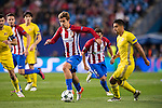 Antoine Griezmann of Atletico de Madrid is followed by Christian Noboa of FC Rostov during their 2016-17 UEFA Champions League match between Atletico Madrid and FC Rostov at the Vicente Calderon Stadium on 01 November 2016 in Madrid, Spain. Photo by Diego Gonzalez Souto / Power Sport Images