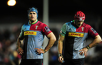 James Horwill of Harlequins looks on during a break in play. European Rugby Challenge Cup semi final, between Harlequins and Grenoble on April 22, 2016 at the Twickenham Stoop in London, England. Photo by: Patrick Khachfe / JMP