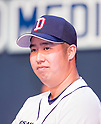 Yoo Hee-Kwan, Mar 28, 2016 : South Korean baseball team Doosan Bears' starting pitcher Yoo Hee-Kwan attends a media day and fanfest of 10 clubs in the Korea Baseball Organization (KBO) in Seoul, South Korea. (Photo by Lee Jae-Won/AFLO) (SOUTH KOREA)