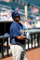 Chris Snelling - San Diego Padres - 2009 spring training.Photo by:  Bill Mitchell/Four Seam Images