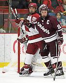 Marshall Everson (Harvard - 21), Kevin McNamara (Colgate - 10) - The Harvard University Crimson defeated the visiting Colgate University Raiders 4-2 on Saturday, November 12, 2011, at Bright Hockey Center in Cambridge, Massachusetts.