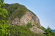 Painted Cliff (a spur of East Osceola) from the Timber Camp Trail in Livermore, New Hampshire; part of the White Mountains.