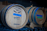 Stone Barn Brandyworks, a micro-distillery in SE Portland, Oregon run by Sebastian and Erica Degens.  They make products that include rye whiskey, pear brandy, and other varieties of distilled spirits and operate out of a very small, green warehouse space.  Their products are not yet for sale other than directly from them.  Some of the aging spirits in their oak barrels in the warehouse.