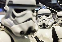 Stormtrooper cosplay at Expocomic 2016 in Madrid, Spain. December 03, 2016. (ALTERPHOTOS/BorjaB.Hojas) /NORTEPHOTO.COM
