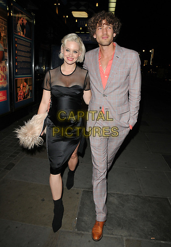 """Kimberly Wyatt and Max Rogers at the """"Waitress"""" cast change media night, Adelphi Theatre, The Strand, London, England, UK, on Tuesday 02nd July 2019.<br /> CAP/CAN<br /> ©CAN/Capital Pictures"""