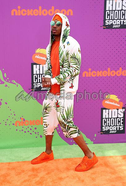 13 July 2017 - Los Angeles, California - Nick Cannon. Nickelodeon Kids' Choice Sports Awards 2017 held at Pauley Pavilion. Photo Credit: F. Sadou/AdMedia