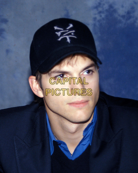 ASHTON KUTCHER.March 2005.headshot portrait baseball cap hat.www.capitalpictures.com.sales@capitalpictures.com.© Capital Pictures.