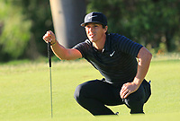 Thorbjorn Olesen (DEN) in action on the 10th during Round 2 of the ISPS Handa World Super 6 Perth at Lake Karrinyup Country Club on the Friday 9th February 2018.<br /> Picture:  Thos Caffrey / www.golffile.ie<br /> <br /> All photo usage must carry mandatory copyright credit (&copy; Golffile   Thos Caffrey)
