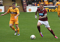 Motherwell v Heart of Midlothian 070811