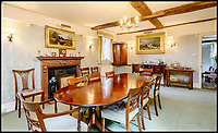 BNPS.co.uk (01202)558833<br /> Pic:  Strutt&Parker/BNPS<br /> <br /> A majestic Grade II listed manor which is mentioned in the Doomsday book has emerged for sale for £2.75million.<br /> <br /> Old Riffhams, in Little Baddow, Essex, is referred to in the 1086 manuscript as the 'fief of Richeham'. <br /> <br /> It is thought to have once been owned by Earl Godwin, the father of the 11th century monarch King Harold II. <br /> <br /> The present red brick building nestled in 18 sprawling acres of grounds and gardens is believed to date from the the mid 16th century.