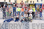 BIKE HISTORY: Enjoying the History of Tralee on Bicycles as part of the Kingdom Bike Festival at Tralee Town Square on Thursday.