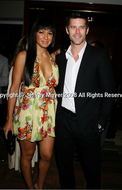 Reality television personalitis Jo De La Rosa (L) and Slade Smiley arrive at the NBC Universal 2008 Press Tour All-Star Party at The Beverly Hilton Hotel on July 20, 2008 in Beverly Hills, California.